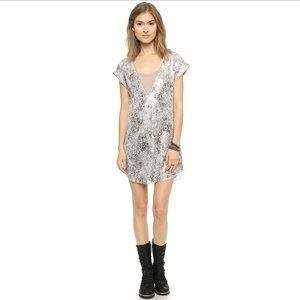 Free people midnight dreamer sparkle mesh dress